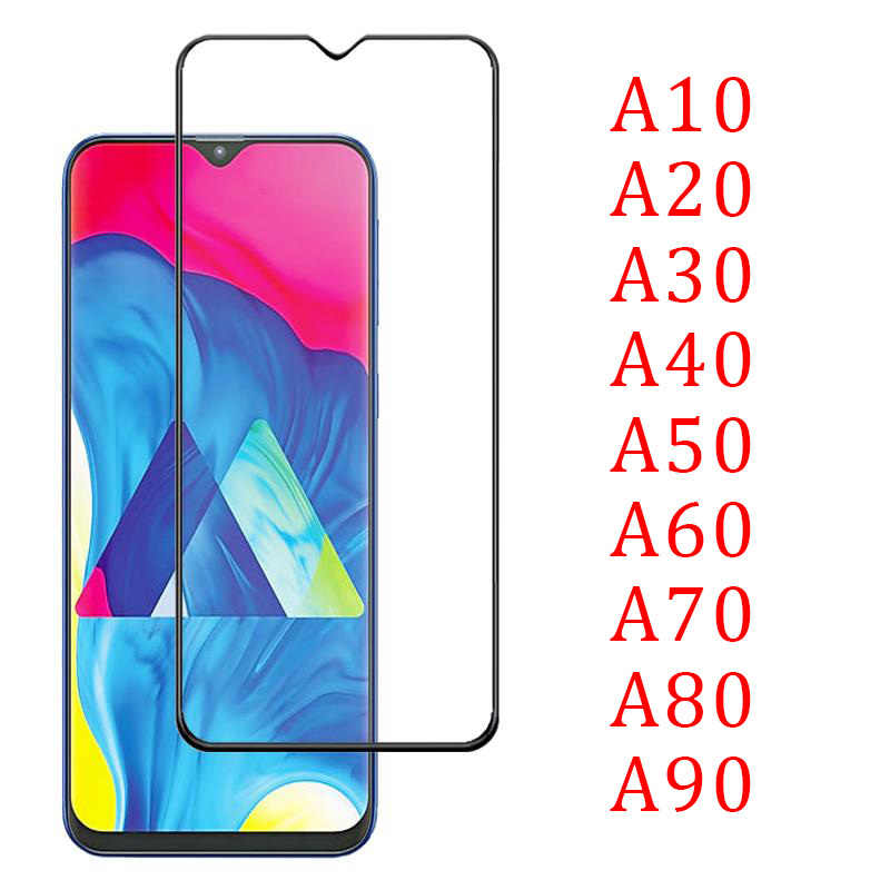 5d Full Glue Tempered Glass For Samsung A10 A20 A30 A40 A50 A60 A70 A80 A90 Protective On Galaxy A 10 20 30 40 50 60 70 80 90 9h
