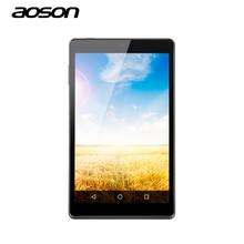 Ultra-delgada Android 8 pulgadas Tablet Aoson Lollipop M812 Pantalla IPS 1G/16G de Doble Cámara de 2.0/5MP Quad Core Android 5.1 Tablet PC
