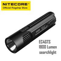 NITECORE EC4GTS High Performance Strong Light Long   range Flashlight Super   bright Integrated Casting Searchlight LED Flashlights    -
