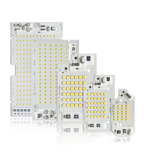 10pcs/lot Smart IC SMD LED CHIPS LAMP 10W 20W 30W 50W 100W AC220V/110V input directly DIY For outdoor floodlight