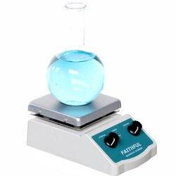SH-2 di Laboratorio Agitatore Magnetico con riscaldamento Frullatore mixer Piastra Calda con Ancoretta Magnetica Bar