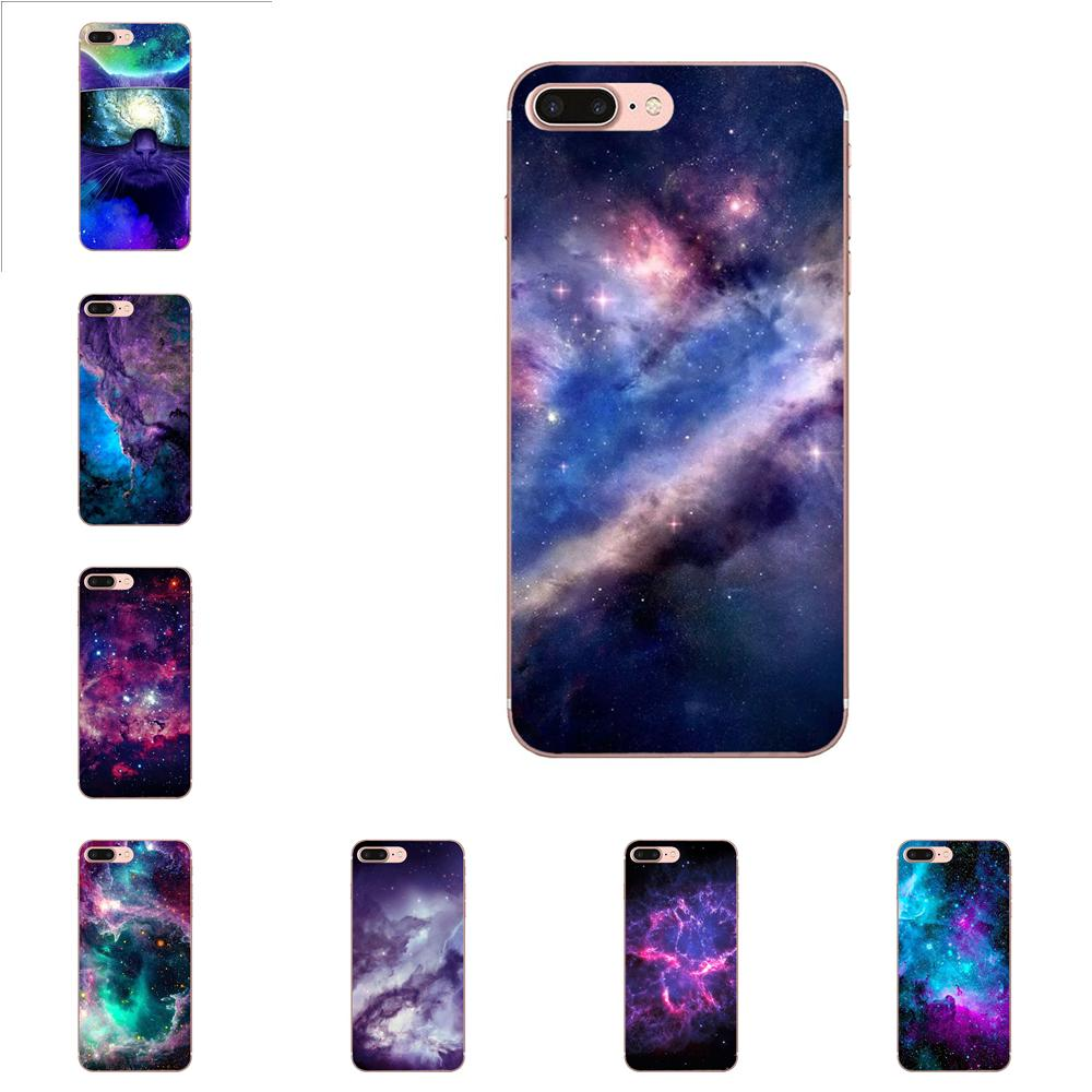Space For Galaxy Universe Star Dark <font><b>Cat</b></font> TPU For <font><b>Huawei</b></font> Nova 2 V20 Y3II Y5 Y5II Y6 Y6II <font><b>Y7</b></font> Y9 G8 G9 GR3 GR5 GX8 Prime 2018 <font><b>2019</b></font> image