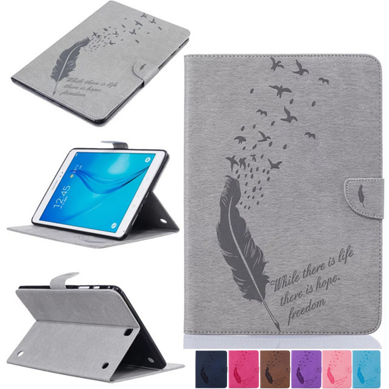 Business High Quality tpu Leather For Samsung Galaxy Tab A 9.7 T550 T555 Flip Card Slot Tablet PC Stand Case For SM-T550 sm-T555