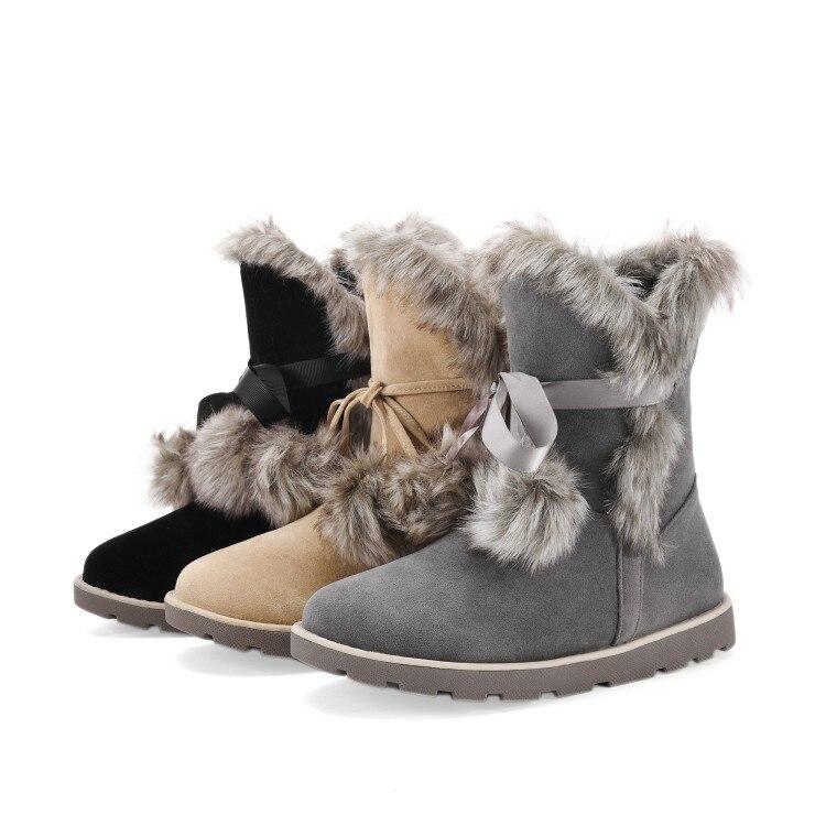 La Caliente Up Feminina Australia Size896 Zurriago Calidad Nieve Del Invierno Lace gris negro Manera Mujeres Nueva Las Bota Superior Camel Botas De Cuero Exportación UXqnq6RT