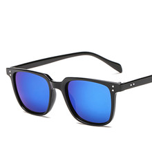 2018 New High Quality Brand Designer Square Sunglasses Men Retro Vintage Driving Sun Glasses For Men Male Sunglass Shades UV400