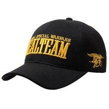 US Navy Seals team baseball cap snapback hat embroidered hip hop adjustable snapback golf cap sun hat