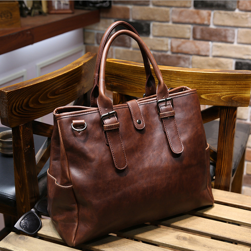 13 14 inch PU Casual Computer Laptop Notebook Tablet Bags Case Messenger Shoulder Briefcase Bag for