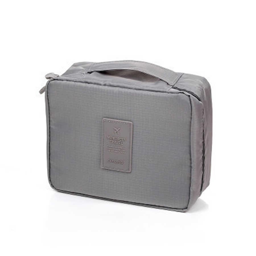 2017 موضة زيبر حقيبة المكياج المنظم حقيبة النساء الرجال السفر عادية متعددة الوظائف حقيبة مستحضرات التجميل تخزين حقيبة مقاوم للماء