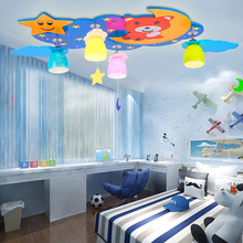 Buy ceiling light moon kids and get free shipping on aliexpress moon and stars led ceiling lights 110v 220v e27 lamp kindergarten kids flush mount children mozeypictures Gallery