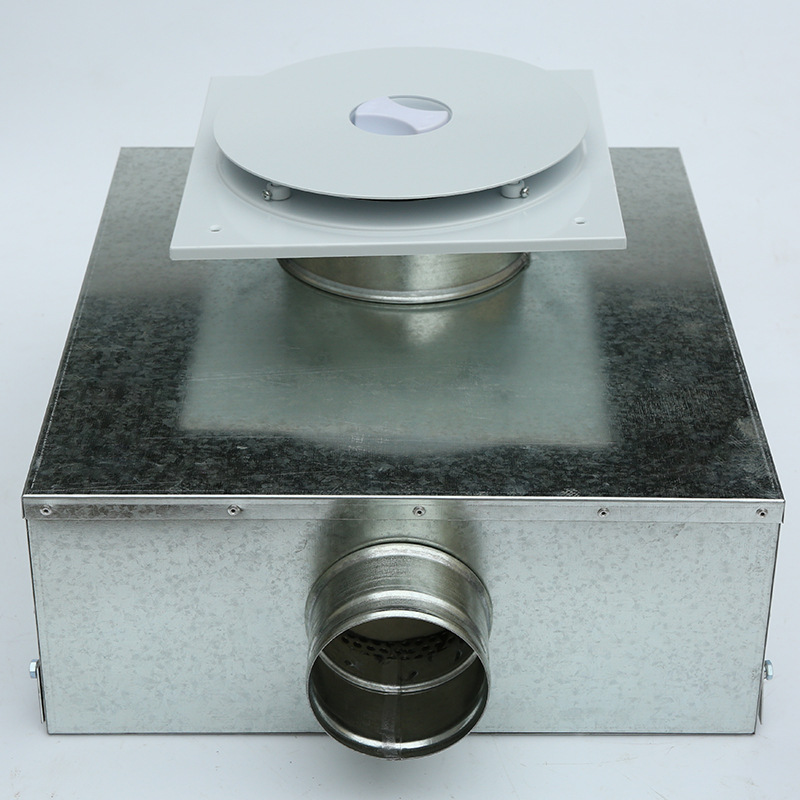 Factory Customize Air Distributor Central Air Conditioning Ventilation Galvanized Sheet Accessories Marine Ventilation