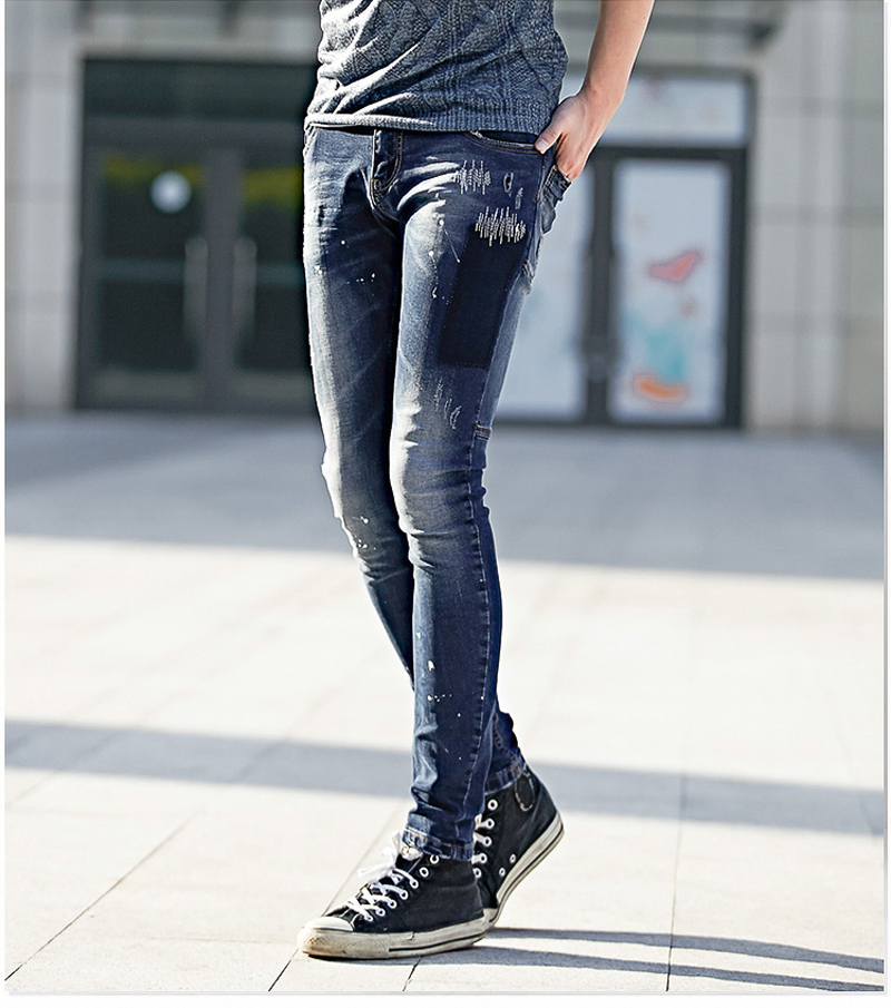 Black Skinny Ripped Robin Denim Jeans Men T.r Mens Designer ...