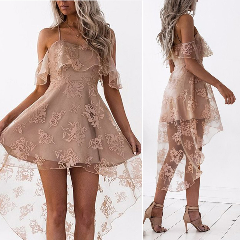 new 2018 summer dress for Women ladies Sexy sleeveless strapless Formal Bridesmaid fashion Dress vestidos