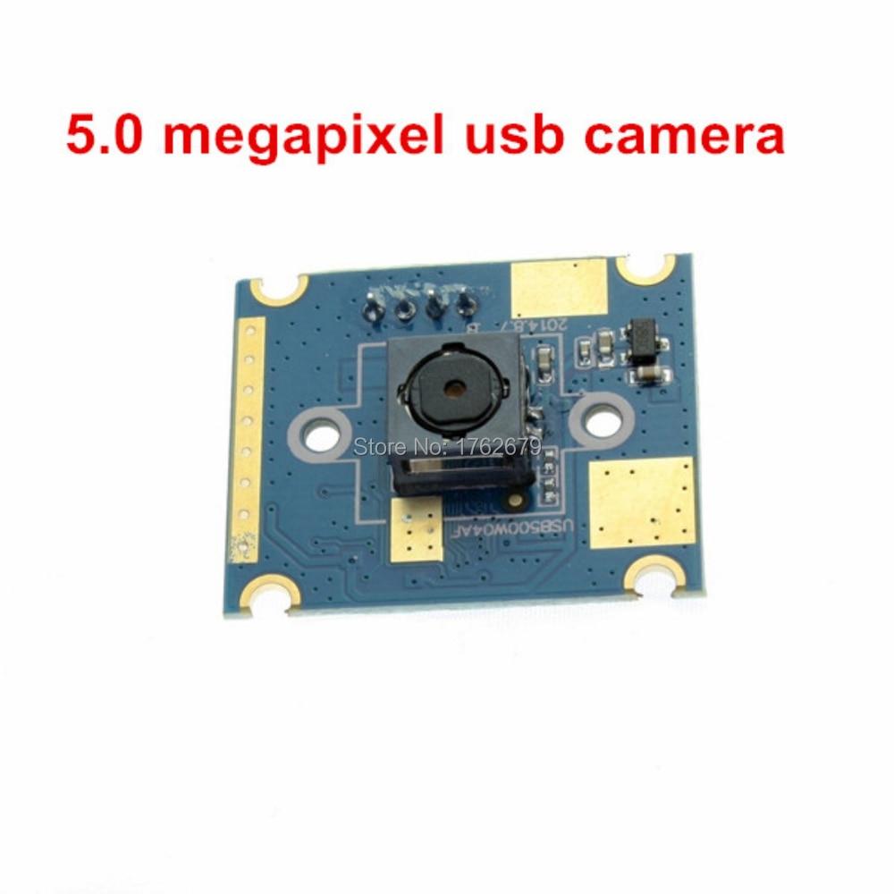 Mini 30X25mm usb camera board autofocus 5MP 2592X1944 OV5640 oem usb micro camera module with 60 degree Auto Focus HD Lens
