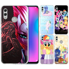My Little Pony untuk Huawei Honor 8X Y9 9 10 Lite Bermain 7C 8C 8 S 8A 7 S 7A Pro V20 20i Y6 Y7 Y5 2019 Hard Pc Anime Ponsel Cover(China)
