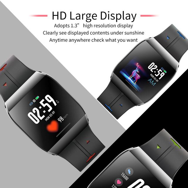 LEMFO X1 Smart Watch Men 1.3 Inch Alloy Case IP68 Waterproof Heart Rate Monitor 30 Days Long Time Standby Smartwatch