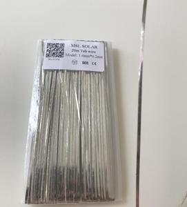 Image 2 - ALLMEJORES DIY Solar Panel Solar Cell Welding Wire Strip 20m 1.6*0.2mm Tabbing wire solder wire Freeshipping!