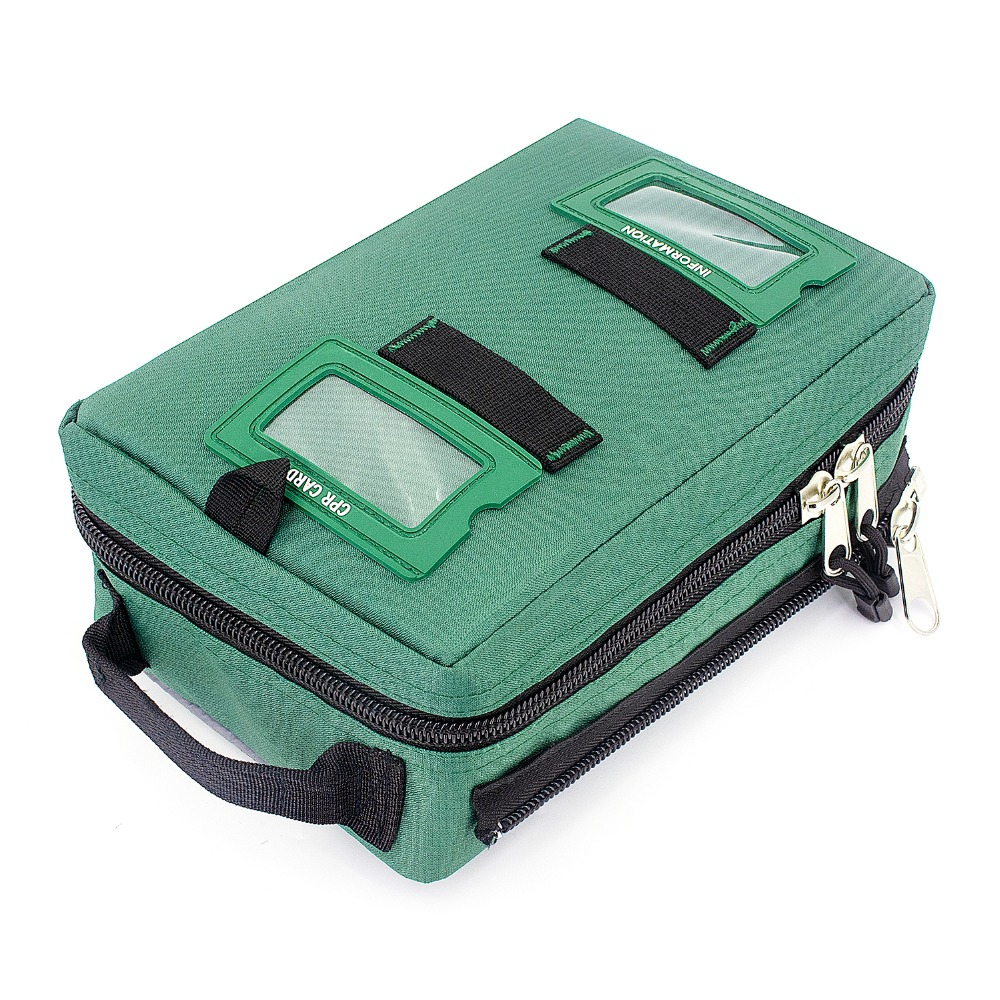 Купить с кэшбэком Empty First Aid Kit Bag Durable and Compact Medical Emergency Bag Survival Kit For Home Car School Workplace Hiking Camping