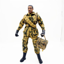 1/6 Scale Accessories Female Clothes Woodland Camo WWII 82nd Airborne Soldier Uniforms For 12 Male Military Action Figure Body