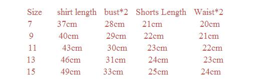 HTB1QmgqQXXXXXaTXFXXq6xXFXXXP - 2pcs/sets,Casual Kids Clothing Baby Girls Clothes Sets Summer Heart Printed Girl Tops Shirts + Shorts Suits Children's Clothing