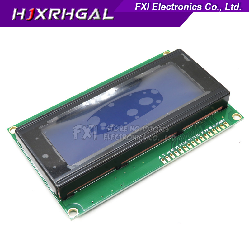 LCD Display Monitor LCD2004 2004 20X4 5V Character Blue Backlight Screen And IIC I2C for arduinoLCD Display Monitor LCD2004 2004 20X4 5V Character Blue Backlight Screen And IIC I2C for arduino