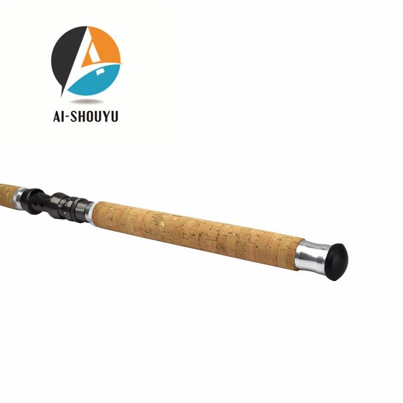 AI-SHOUYU Fibră de carbon Telescopic Rod de pescuit 2.1-4.5m Pârtii - Pescuit - Fotografie 4