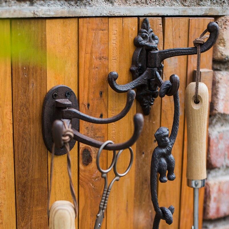Vintage Decorative Garden Hook Hanger Flower Basket