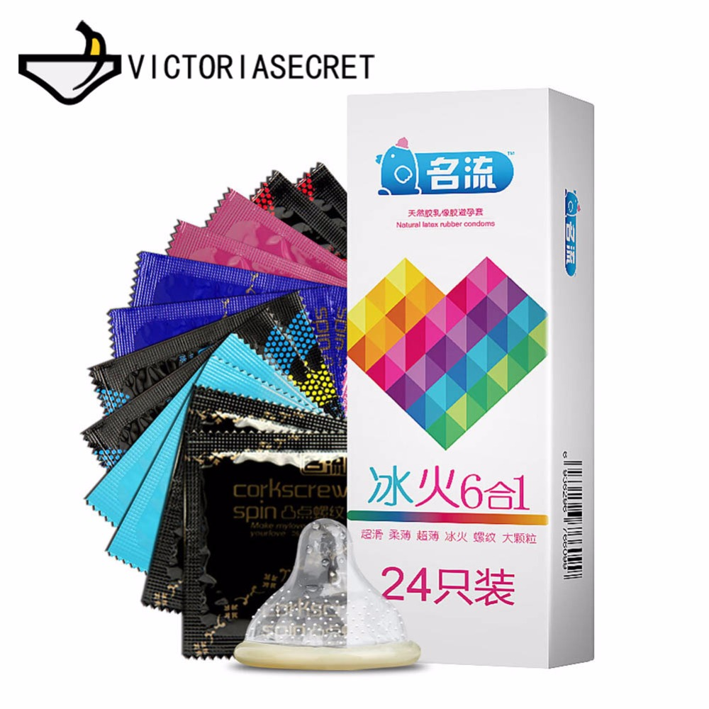 Penis Condom G Point Ice and Fire Penis Sleeve Rubber Erotic Delay Condoms for Men Toys Lubricating Condom Dick Ring Dildo