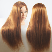 Hot Sale 26 Female Mannequins Hair Styling Heads For Practice Cheap Hairdressing Training Dummy Doll Heads