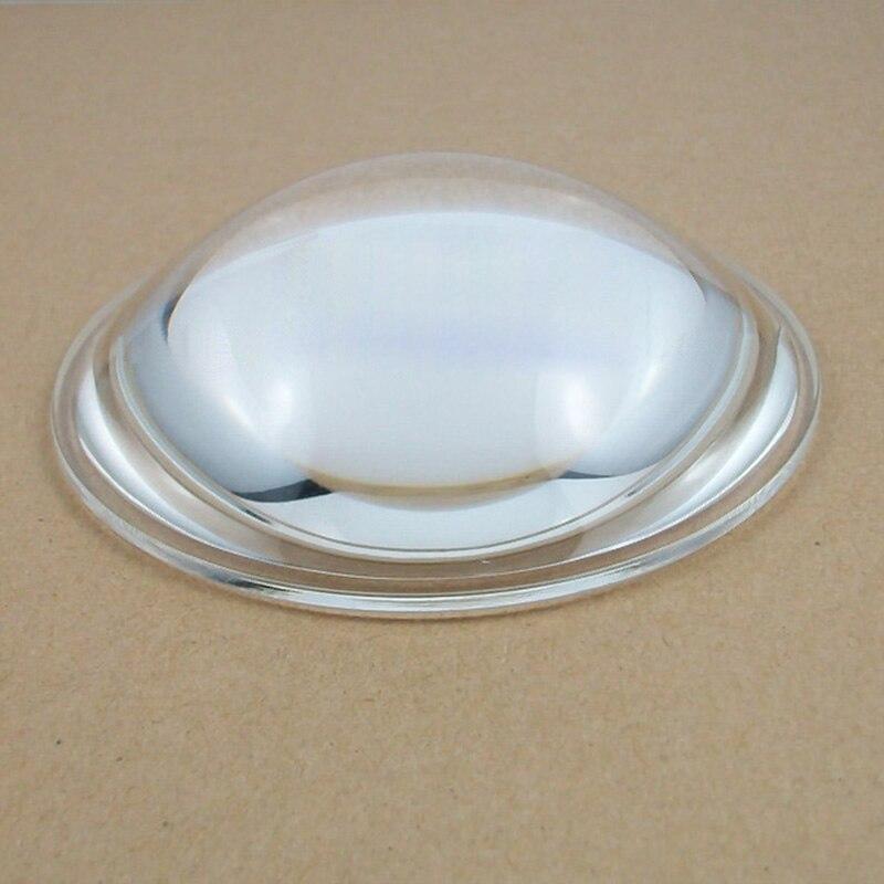ᗗ1 unid 88mm vidrio óptico asférico LED longitud focal plano ...