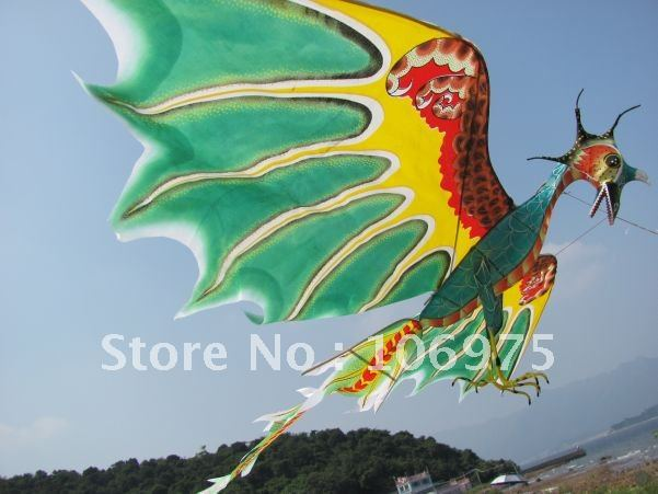 3D AVATAR DRAGON PTEROSAUR KITE FR PANDORA ART DECO TOY Wall Ceiling Room  Home Decoration Chinese