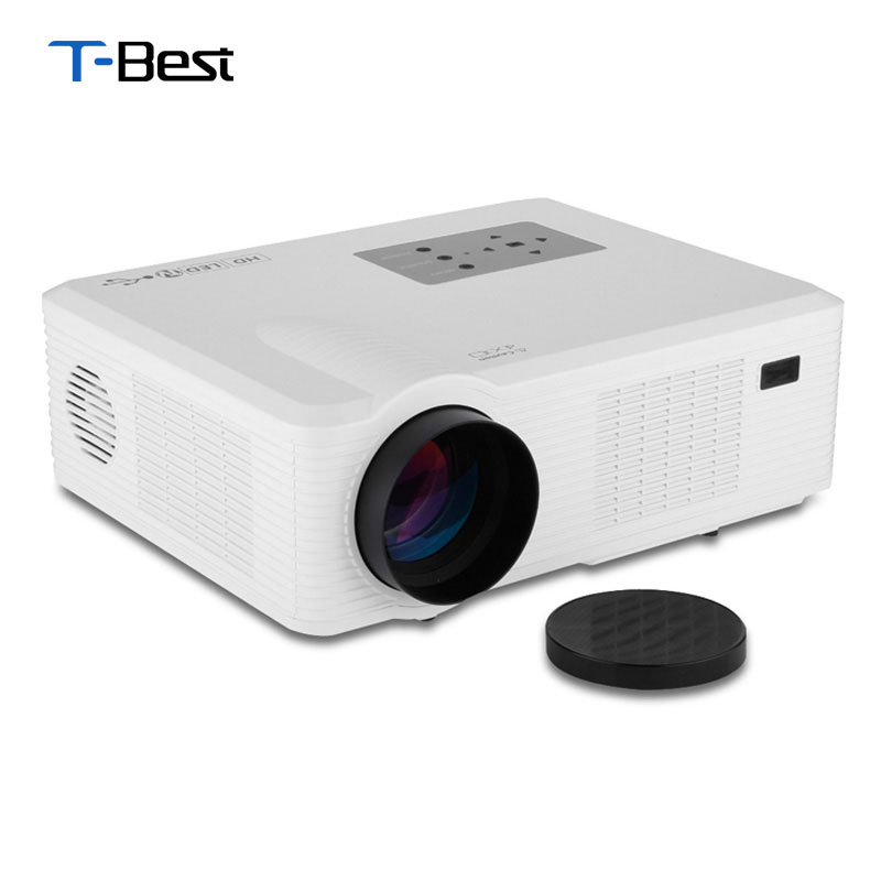 Hd Projector Full Color 720p 2400 Lumens Digital Tv Single: Aliexpress.com : Buy Excelvan Cl740 LED/LCD Projector 2400