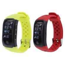 S908 IP68 Водонепроницаемый Smart Браслет Heart Rate Фитнес трекер GPS спортивные часы сна Мониторы Шагомер умный Браслет