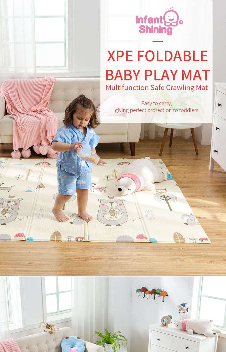 HTB1Qmhab.GF3KVjSZFoq6zmpFXac Infant Shining Baby Mat Play Mat for Kids 180*200*1.5cm Playmat Thicker Bigger Kids Carpet Soft Baby Rugs Crawling Floor Mats