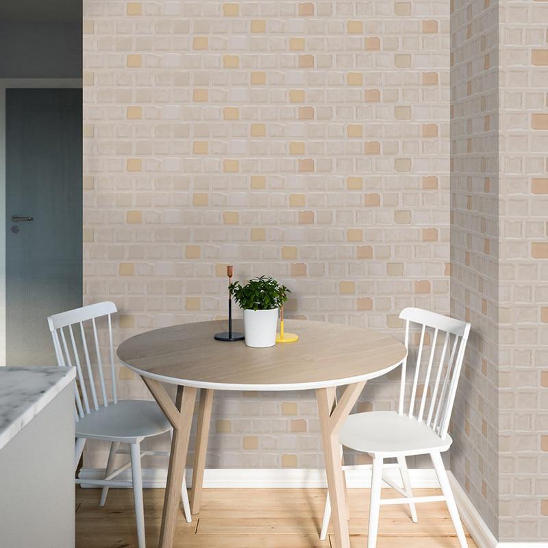 5 M Diri Perekat Kertas Dinding Gulungan Untuk Dapur Ruang Tamu Tv Latar Belakang Wallpaper Batu Bata Stiker Rumah Decor Di Wall Stickers