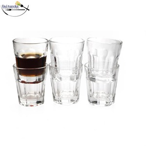 45ml Crystal Whiskey Glass Cup Hand Blown Wall Whey Protein Canecas Nespresso Coffee Mug Espresso Coffee Cup Thermal Glass(China)