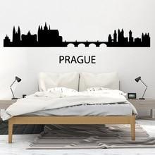NEW Prague Self Adhesive Vinyl Waterproof Wall Art Decal For Kids Rooms Nursery Room Decor Decoration