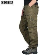 2019 весна осень мужские армейские брюки прямые длинные мужские брюки повседневные Streetwe тактические брюки мужские большие размеры Pantalon Cargo Homme