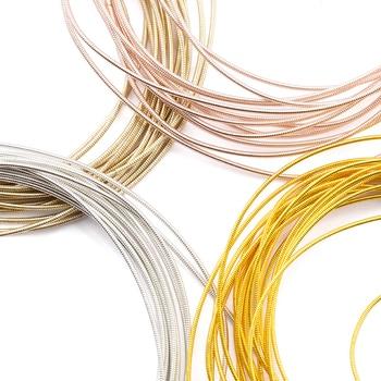 QIAO ligne creuse accessoires de couture patch, tapis d'insigne de broderie, fil de cuivre, bricolage avancé fait à la main, accessoires de bijoux, 10 g/lot 1