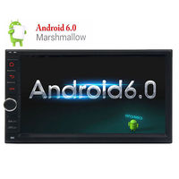 Android 6 0 7 Double 2Din Head Unit Touch Screen Car Radio Stereo NO DVD GPS