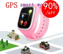HD Anti Lost GPS Smart Phone Watch Tracker Wristband Kids Child SOS GSM with App For iphone for Samsung Android Smart watch