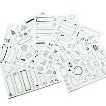 paper diy polaroid decorative sticker for instax mini 8/7s/2