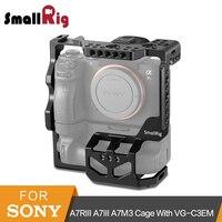SmallRig A7RIII A7III A7M3 защитный Dslr Камера клетка для sony A7RIII A7III A7M3 с VG C3EM вертикальная рукоятка Батарейная ручка 2176