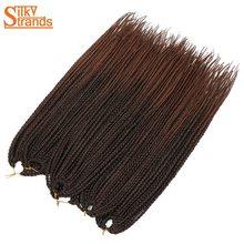 Silky Strands Crochet Braids Micro Box Braid Hair