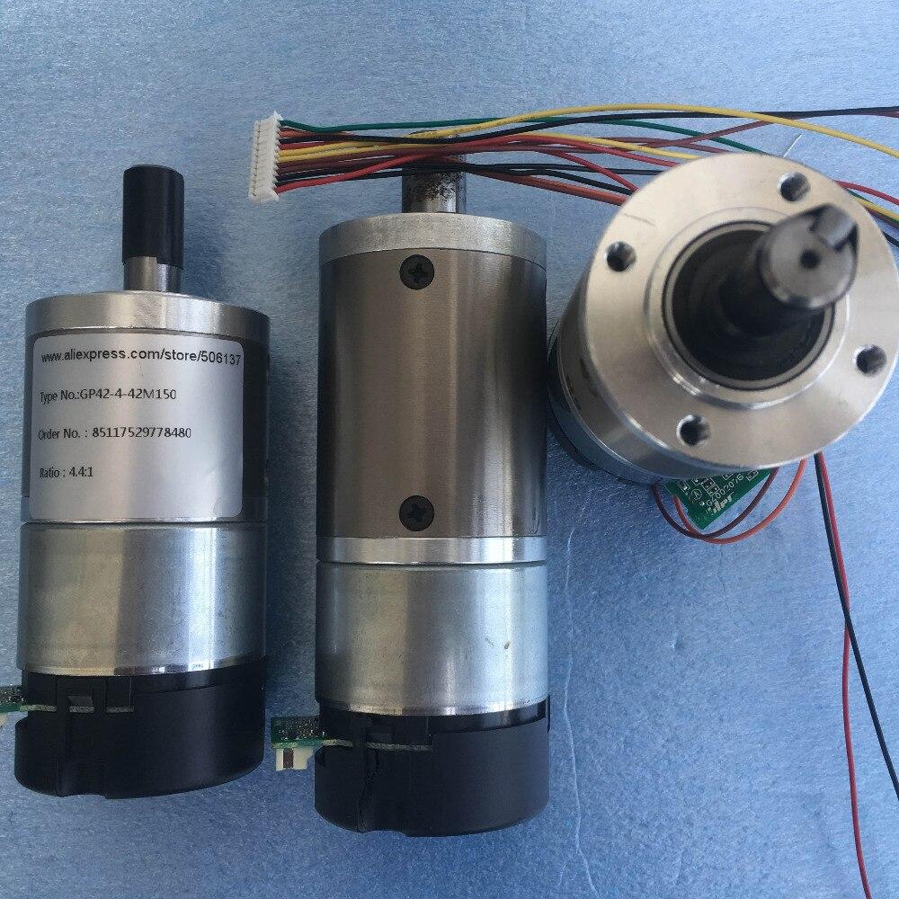 24v Servo Dc Gear Motor 42mm Planetary Gear Motor Micro
