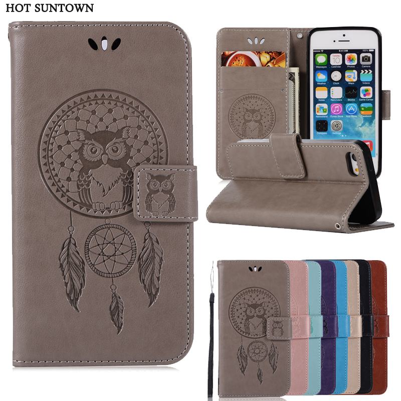 Wallet PU Leather Case for Apple iPhone 5S 5 SE Luxury Flip Magnetic Coque Phone Bag Cover For iPhone 5 5s Cases Fundas