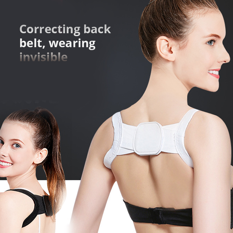 Image 3 - Back Posture Corrector Clavicle Back Support Correction Back Straight Shoulders Brace Strap with Velcro for Adult Chilren-in Braces & Supports from Beauty & Health