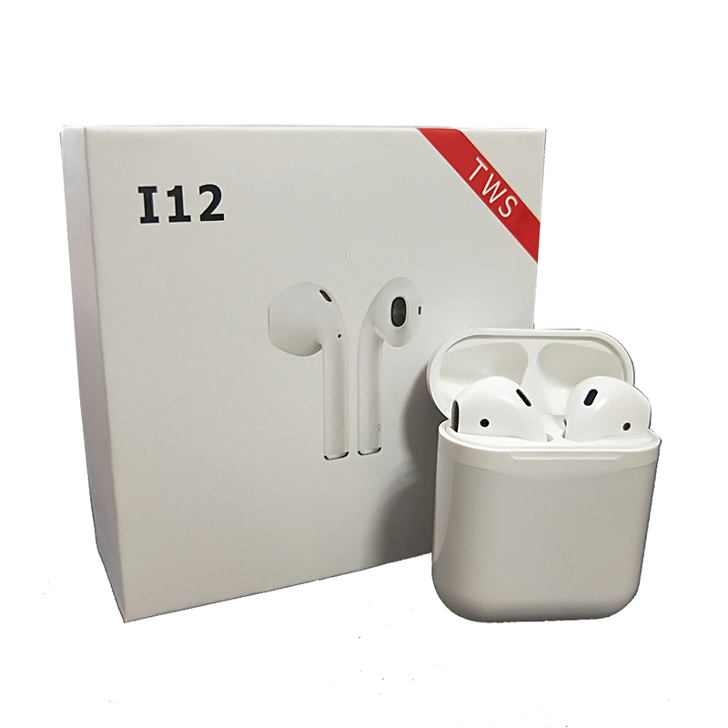 i12 TWS 1:1 Air Mini Wi-fi Bluetooth V5.zero Earphone Pods Contact Management Binaural Name Earbuds PK I10 For iPhone Android Xiaomi Bluetooth Earphones & Headphones, Low cost Bluetooth Earphones...