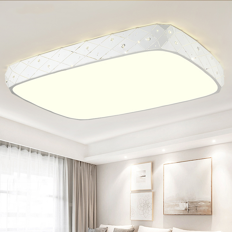 Modern Acrylic ceiling lights home living room lamp LED Fixtures ceiling lamps bedroom Ceiling lighting modern led living room ceiling lamp acrylic ceiling lights creative bedroom dining room home lighting fixtures plafondlamp lumin