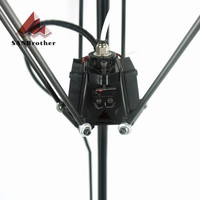 3D Printer Hotend Kossel Reprep Plastic Injection New Auto level Effector with J head Nozzle Full Assembly