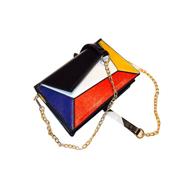 OCARDIAN Shoulder Bags Hot handbag PU Colorful Single Shoulder Bag Lady Temperament Small Square Bag Satche 10.OCT.5 Сумка